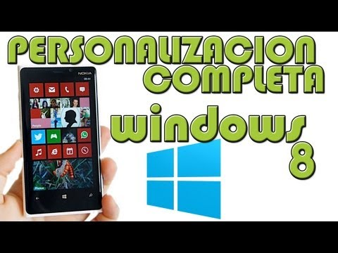 Personaliza tu Android en WINDOWS PHONE - Mejor personalización SUPER COMPLETA y a fondo