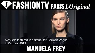 Manuela Frey | Model Talk EXCLUSIVE | Fall/Winter 2014-15 | FashionTV