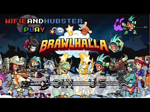 Brawlhalla Gameplay - Late night chill stream. 2v2s and battle royale! Join in!
