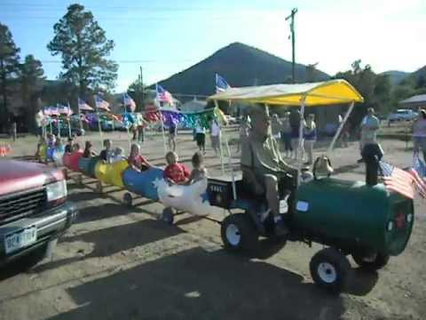 Barrel Train / Trackless train for sale by builder. - YouTube
