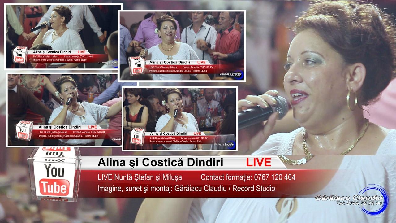 Alina Dindiri | Colaj VIDEO 60 min LIVE | Nunta Stefan si Milusa | Muzica de Petrecere