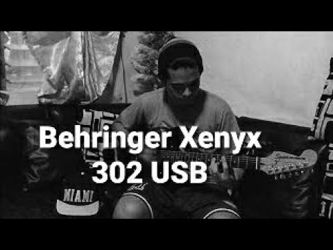 Behringer Xenyx 302 USB (guitar demo)
