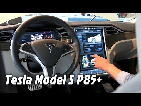 Motor Show Bologna 2014 - Tesla Model S P85+