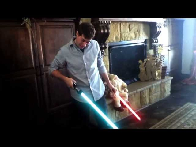 Darth Baby&#039;s Lightsaber