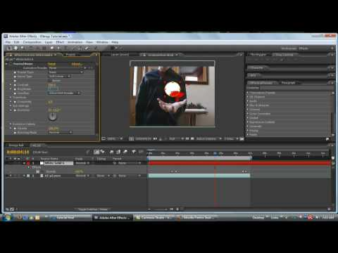 After Effects Energy Ball Tutorial Video