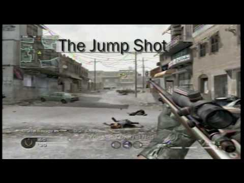 Call of Duty 4 no scope tutorial with commentary Video