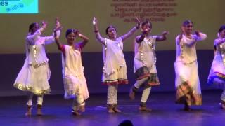 Vishwaroopam - Arthy 2014 January Vishwaroopam Unnai Kaanadhu. Pongal Tamil Sangam Dance