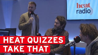 How well do Take That REALLY know their own songs?