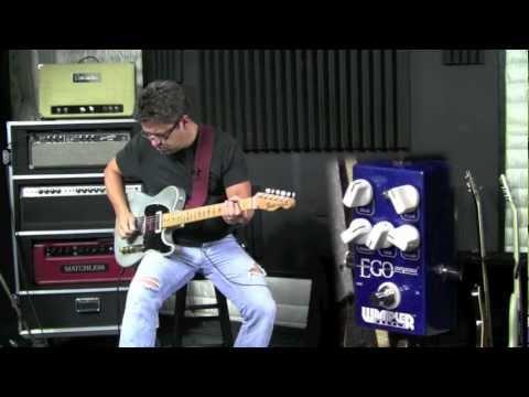 Wampler Pedals - Ego Compressor - Brent Mason demo
