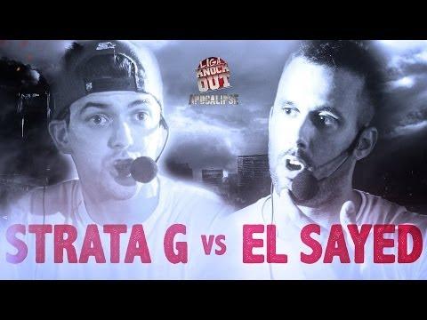 Liga Knock Out / EarBOX Apresentam: Strata G vs El Sayed (Apocalipse)