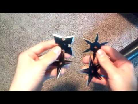 Four Piece Ninja Star Set Review