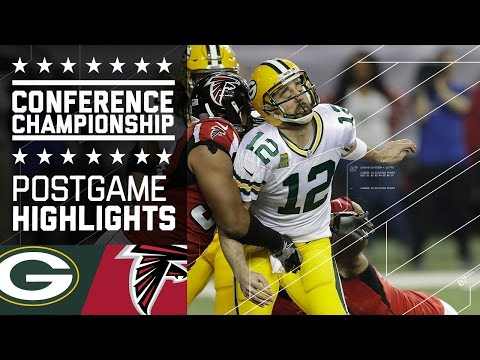Packers Vs Falcons Nfc Championship Game Highlights