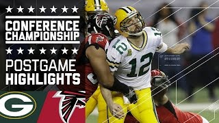 Packers vs. Falcons | NFC Championship Game Highlights