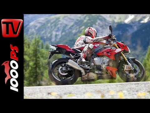 BMW S1000R 2014 - Test in den Alpen