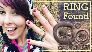 150+ YEAR OLD Wedding Ring Found in the Woods