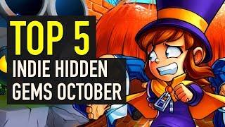 Top 5 Hidden Indie Gems of October 2018