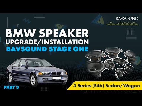 3/3: BMW 3 Series (E46) Sed/Wag Speaker Upgrade Install 3/3.mov