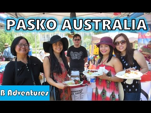 Christmas Philippine Embassy Australia, Pasko sa Canberra, Filipinos