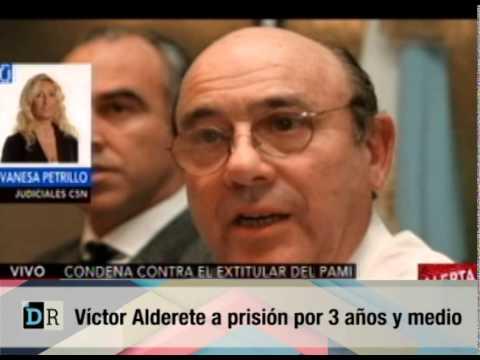 víctor alderete a prisión