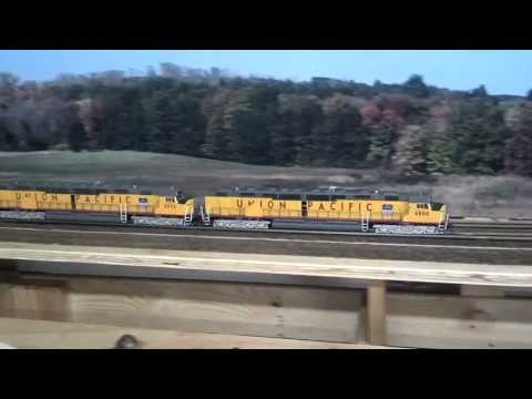 Union Pacific DDA40X & DD35B
