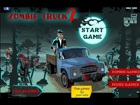 Car Games Online >> Play Zombie Truck 2 Games Online Free - Shoot Kill Zombie Games Online Free - YouTube