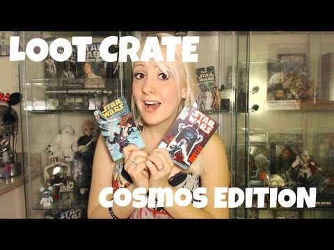 Unboxing Loot Crate: Cosmos Edition