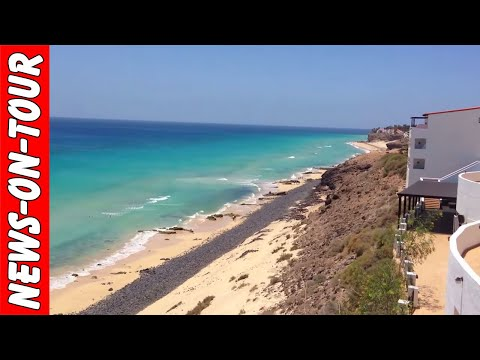 Awesome Caribic Beach Panorama View | Fuerteventura - Morro Del Jable