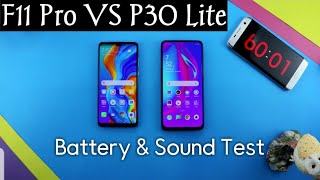 Huawei P30 Lite vs Oppo F11 Pro | Battery Test | Sound Test | Urdu/Hindi