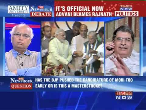 The Newshour Debate: Modi BJP's PM candidate - Full Debate