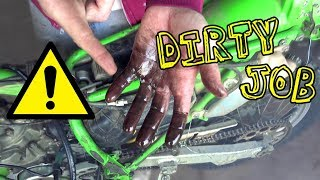 $200 Kawasaki Dirt Bike - A Big Mess