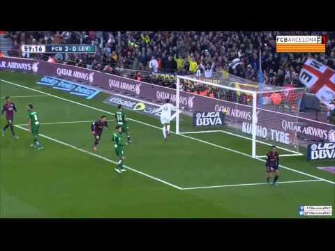 T14/15 J23 Liga BBVA: FC Barcelona 5-0 Levante UD (RAC1)