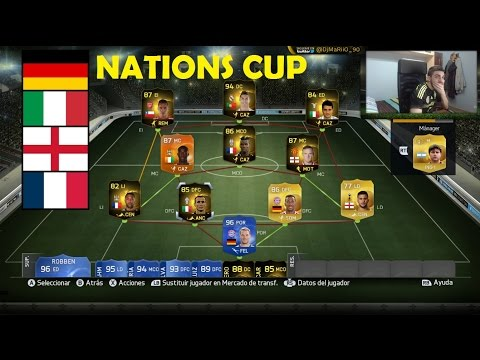 FIFA 15 | TORNEO NATIONS CUP | Ultimate Team | DjMaRiiO