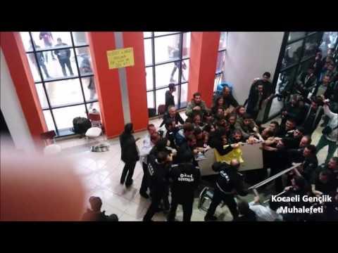 Kocaeli Üniversitesi'nde Polis Saldırısı