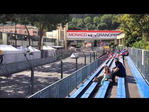 GP F1 Monaco 2014 - Course Porsche - Tribune X2