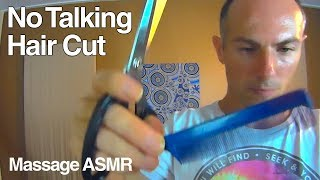 Asmr real haircut clippers