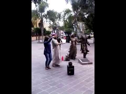 Árabe bailando belly en Tlaquepaque