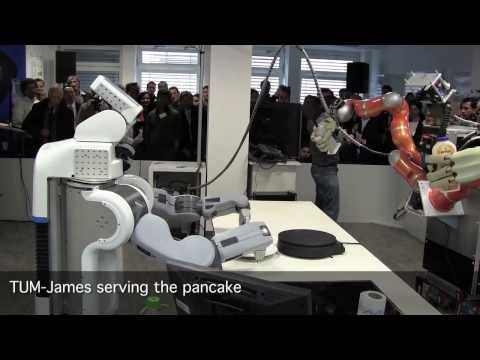 Robotic Roommates Making Pancakes