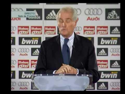 Dimisión de Ramón Calderón en el Real Madrid