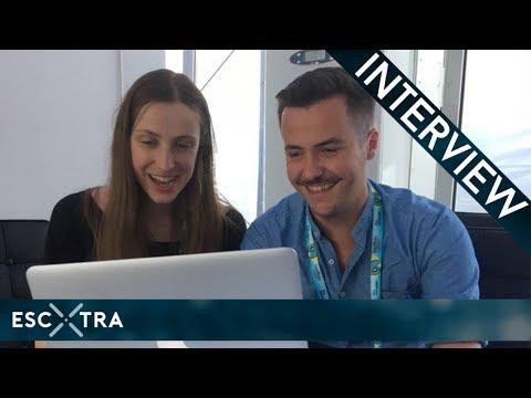 LIVE INTERVIEW: Sennek (Belgium 2018) // ESCXTRA.com