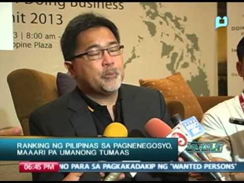 Ranking ng Pilipinas sa pagnenegosyo, maaari pa umanong tumaas