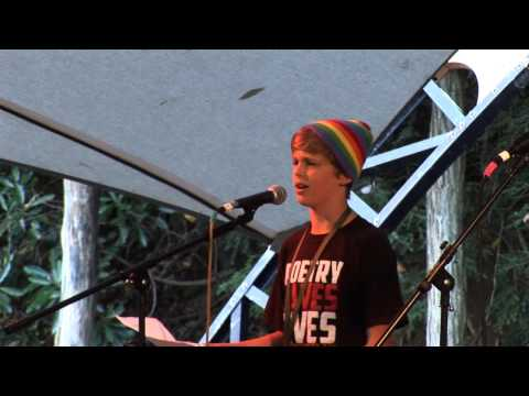 7 Poem #1 Nickoli  Kids Poetry Slam Fall Leaf 2013 video