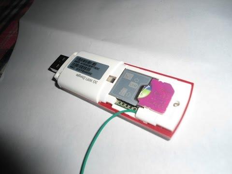 Hack a 3G Dongle to Add an External Antenna