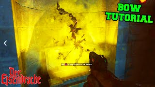 "BLACK OPS 3 ZOMBIES ""DER EISENDRACHE"" HOW TO GET THE BOW TUTORIAL (Zombies DLC)"