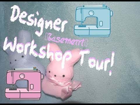 Fashion Designer Workshop Tour! Ft Lola