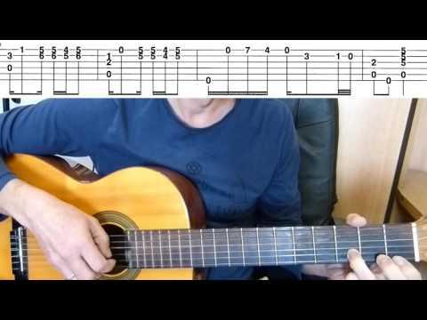 Guitar Lesson -Tango  - La Cumparsita -  Guitar Fingerstyle Tutorial + TAB