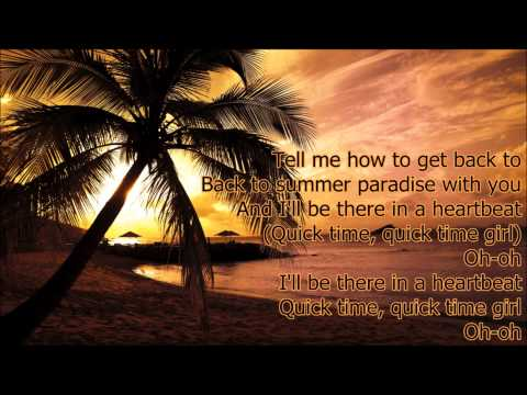 Simple Plan ft. Sean Paul - Summer Paradise (Lyrics!)