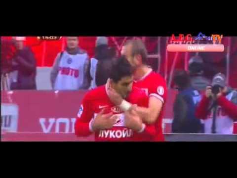 Все голы Спартака в первой части ЧР-2013/14