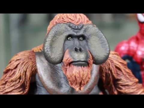 Dawn Of The Planet Of The Apes NECA Maurice Movie Action Figure Review