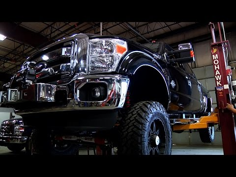 Ford F250 Upgrades - Paint, Lift Kit and Tires (PRODUCT)