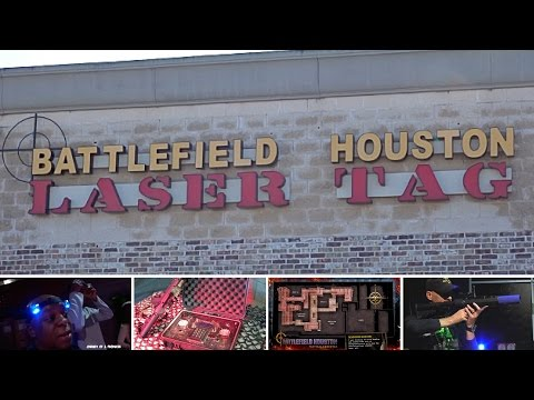 Laser Tag at Battlefield Houston [#129]